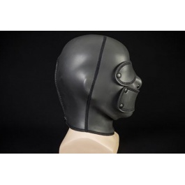 FETISH & BDSM, BDSM, Mask and hood, Hoods & masks, Hood, Neoprene, Hoods
